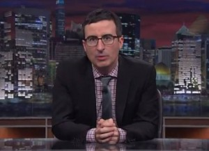 John Oliver Invites Usher, Michael Bolton & Cyndi Lauper Sing To Ask Politicians To Stop Using Their Music