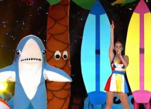 This is 'SportsCenter' Katy Perry's Left Shark?
