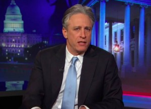 Jon Stewart At A Loss For Words After Mike Huckabee's Comments On Iran Deal