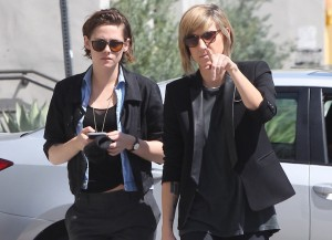 Kristen Stewart And Alicia Cargile Head Out Together In LA