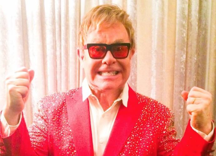 Elton John Star Glasses