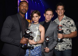 'Fantastic Four' Stars Michael B. Jordan, Kate Mara, Jamie Bell & Miles Teller Celebrate Big Win At CinemaCon