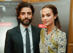 Alicia Vikander And Oscar Isaac On 'Ex Machina' [EXCLUSIVE VIDEO]