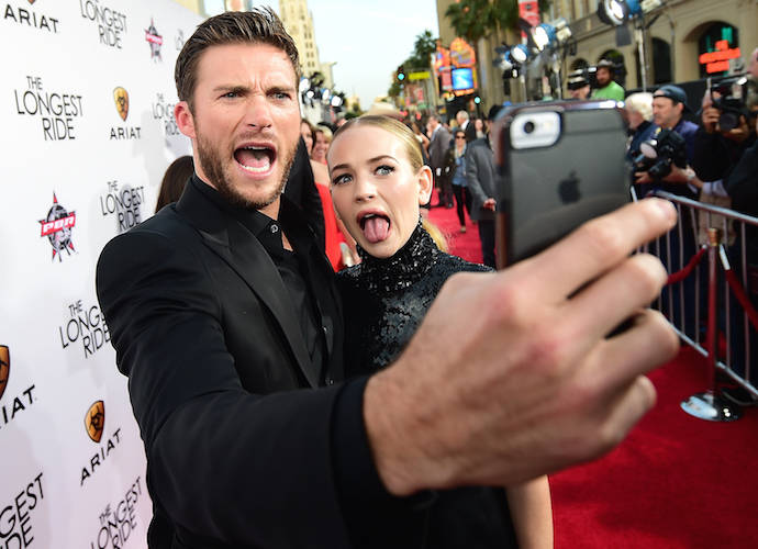 Britt Robertson and Scott Eastwood