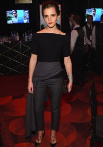Emma Watson Looks Chic In Dior At Time Gala