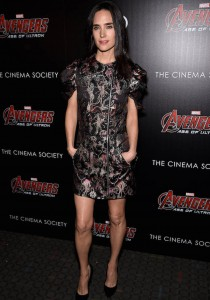 Jennifer Connelly Rocks Louis Vuitton At 'Age Of Ultron' Screening