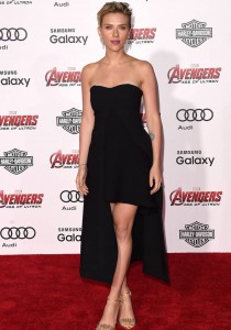 Scarlett Johansson Chooses LBD For 'Avengers: Age of Ultron' Premiere