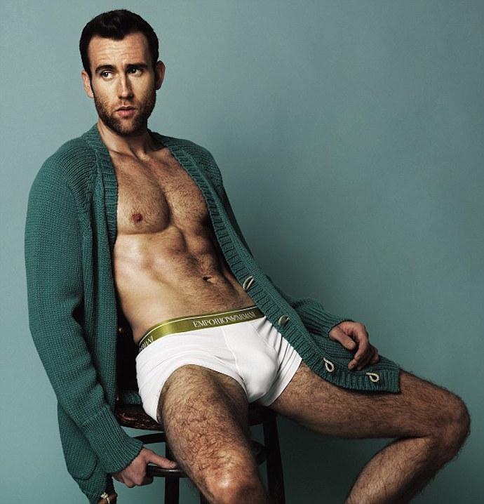 Matthew Lewis Underwear Photos: J.K. Rowling Jokingly Scolds 'Harry