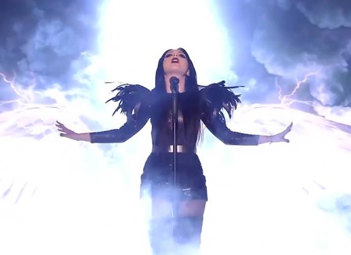 Nina Sublatti performs for Georgia at 2015 Eurovision