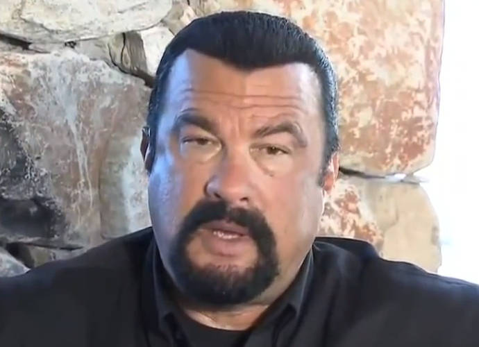 Steven Seagal Spotted At Vladimir Putin's Victory Day Parade ...