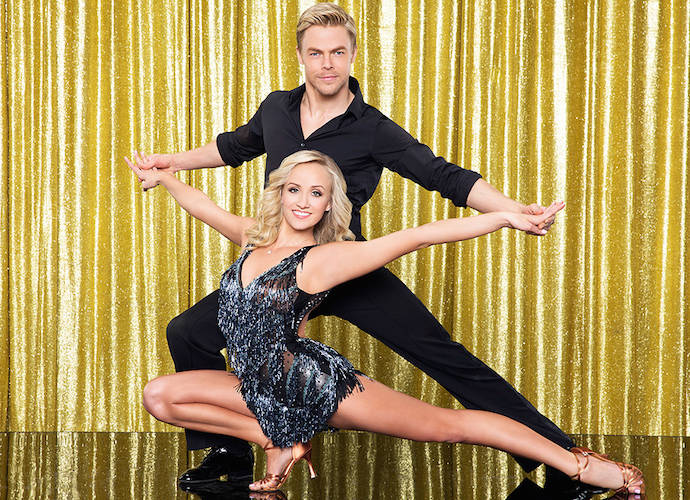nastia and derek dating My toe and ankle are getting better by the day  derek video: how well do derek and nastia know each  sharna burgess and josh norman aren't dating, .