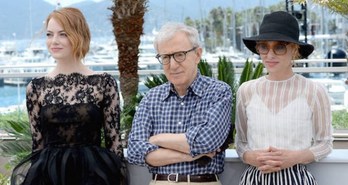 Emma Stone, Woody Allen & Parker Posey Pose For The Cameras At Cannes
