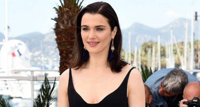 Rachel Weisz Promotes 'The Lobster' At Cannes In Black Jumpsuit
