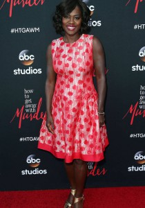 Viola Davis Looked Glam At 'How To Get Away With Murder' Screening