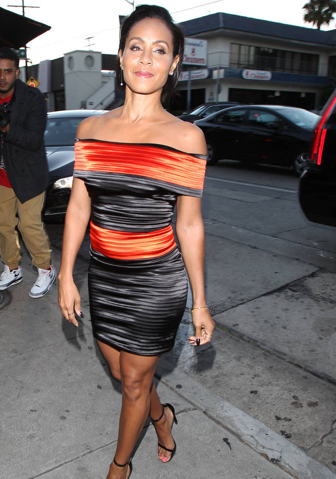 Jada Pinkett Smith Howard Stern Jada Pinkett Smith Arrives at