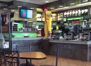 "Ronald McDonald ""McFreakin'"" Loses It In Viral Vine Videos"