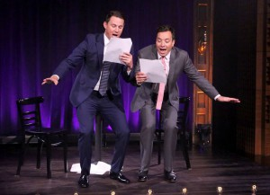 Channing Tatum And Jimmy Fallon Peform 'Magic Mike' Skits Written By Kids