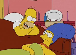 Homer And Marge Simpson Address Divorce Rumors