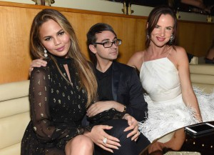 Chrissy Teigen, Christian Siriano & Juliette Lewis Hang Out At CFDA Fashion Awards After Party