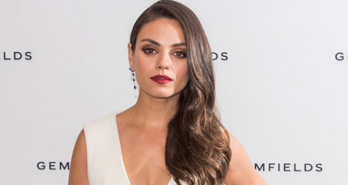 Mila Kunis Wore All White To Gemfields Event In London