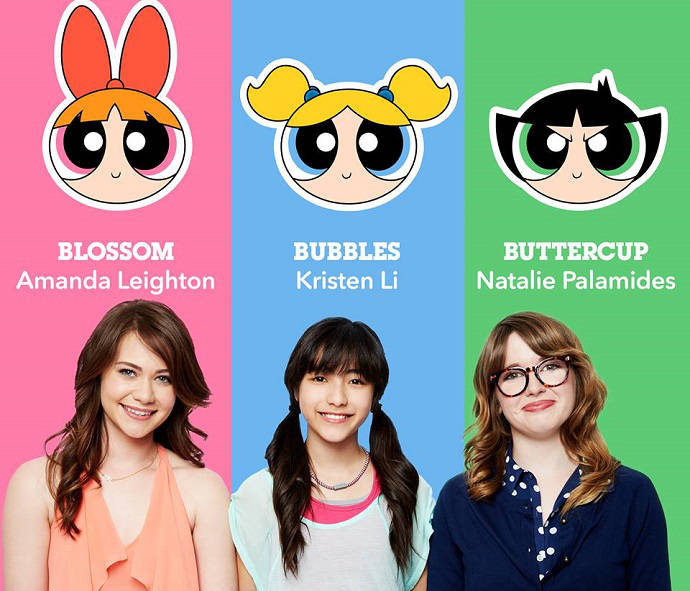 New Powerpuff Girls Powerpuff Girls