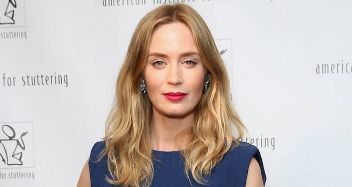 Emily Blunt Rocks A Stylish Jumpsuit At American Institute for Stuttering Event