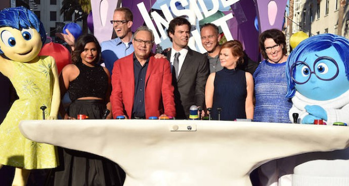 'Inside Out' Cast Poses At Film's L.A. Premiere