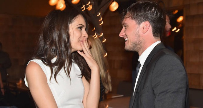 Josh Hutcherson Laughs With Girlfriend And 'Escobar: Paradise' Costar Claudia Traisac At Premiere After Party
