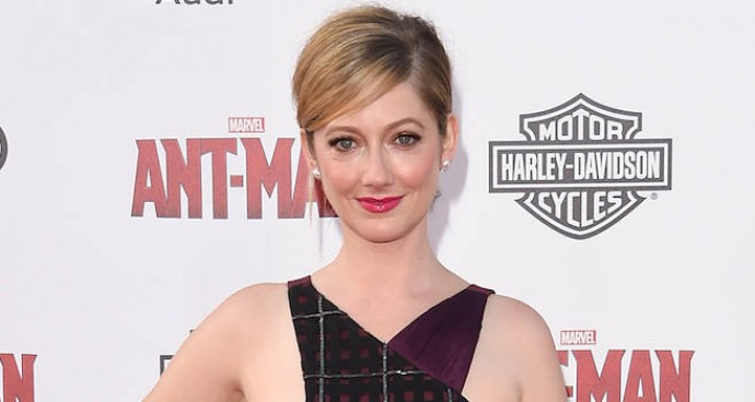 Judy Greer Wows In Bibhu Mohapatra At 'Ant-Man' Premiere