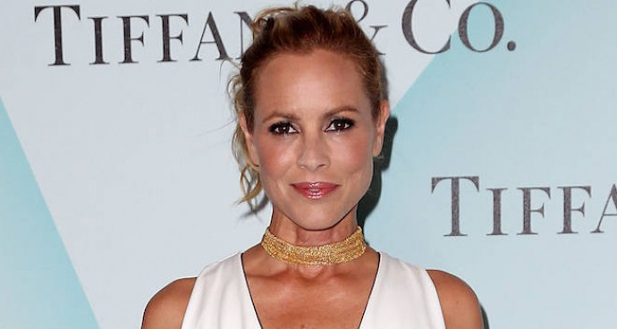 Maria Bello Wears White to Women In Film Event