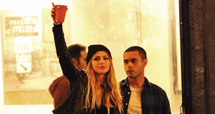 Melissa Benoist Films 'Low Riders' With Gabriel Chavarria