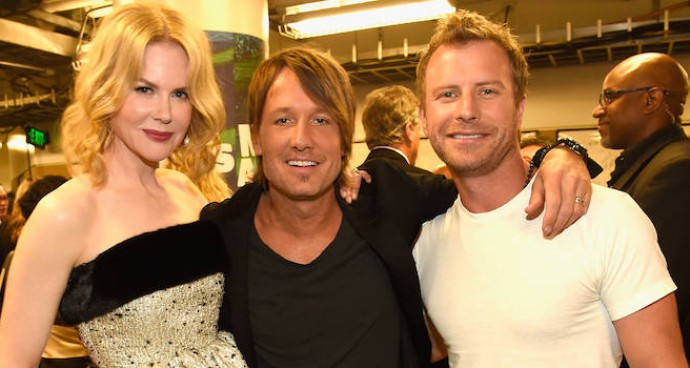Nicole Kidman Joined Keith Urban & Dierks Bentley Backstage At The CMT Music Awards