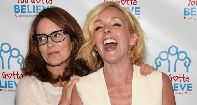 Tina Fey And Jane Krakowski Attend Voices For The Voiceless Event