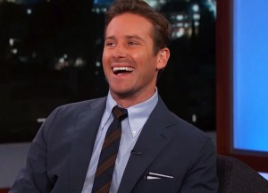 Armie Hammer Reveals He Has Nude Pics On His Phone