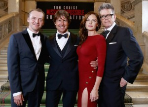 'Mission: Impossible – Rogue Nation' World Premiere: Tom Cruise, Rebecca Ferguson, Christopher McQuarrie Reunite