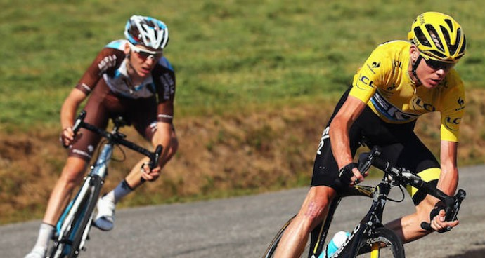 "Fan Throws Urine On Chris Froome On The Tour De France, Yelling ""Doper"" At Him"