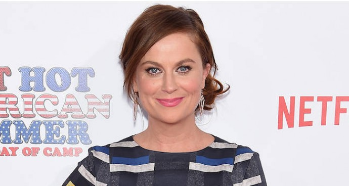Amy Poehler Rocks Plaid Romper At 'Wet Hot American Summer' Premiere