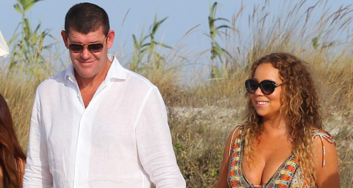 Mariah Carey And James Packer Hold Hands In Ibiza
