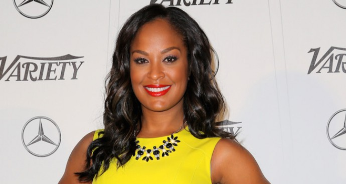 Laila Ali Wows In Yellow At Variety's Sports Entertainment Breakfast