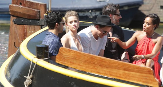 'Magic Mike XXL' Costars Take A Boat Ride In Amsterdam