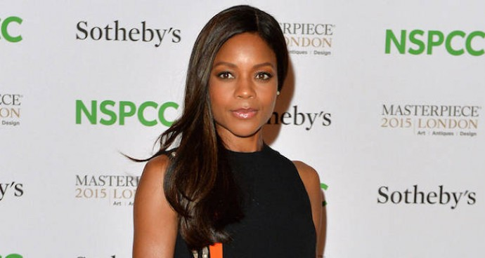 Naomie Harris Goes Glam In Mugler Resort Gown At Art Gala