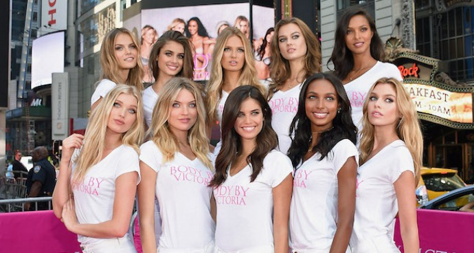 Victoria's Secret Angels Launch Body By Victoria Campaign
