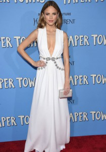 Halton Sage Wowed in Miu Miu At 'Paper Towns' Premiere