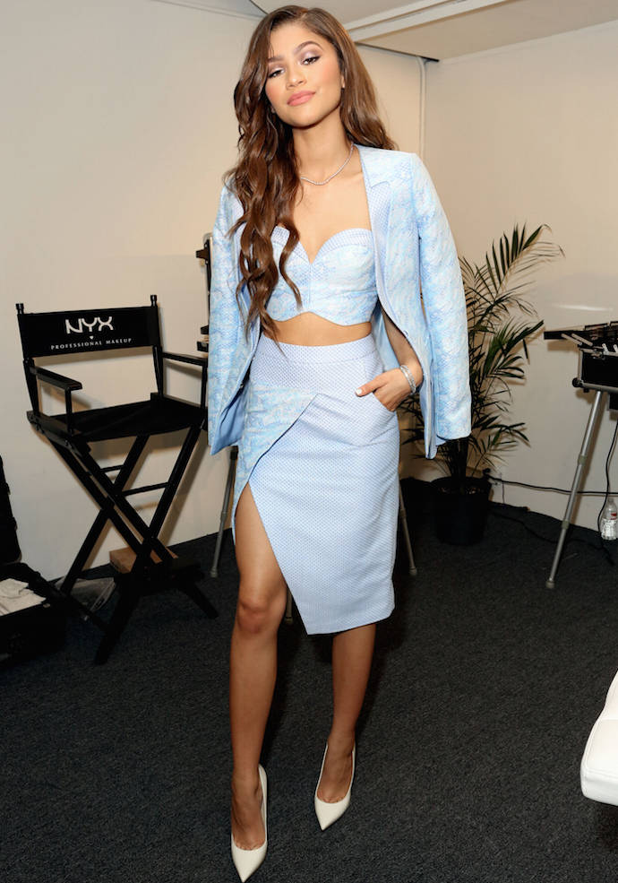 Zendaya Coleman Wears Eye Catching Lie Sangbong Outfit To Beautycon Uinterview