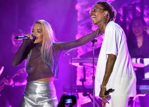 Wiz Khalifa Joins Rita Ora Onstage At The El Rey