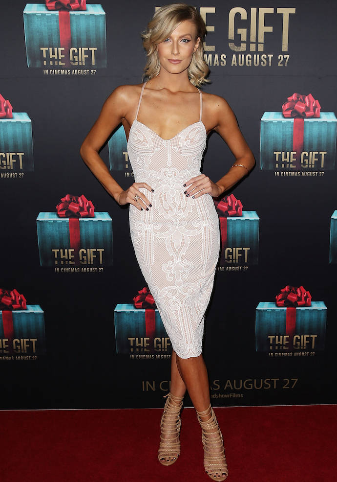 Erin Holland Stuns At 'The Gift' Premiere In Australia ...