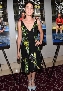 Lizzy Caplan Dons Proenza Schouler For 'Sleeping With Other People' Screening
