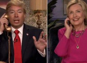 Jimmy Fallon Channels Donald Trump's Second Place Loss In The Iowa Caucus