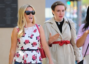Reese Witherspoon Grabs Lunch With Lena Dunham In L.A.