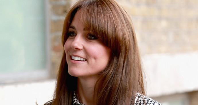 Kate Middleton Debuts New Bangs Visiting Anna Freud Centre